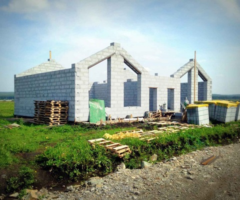 Построить дом из твинблока